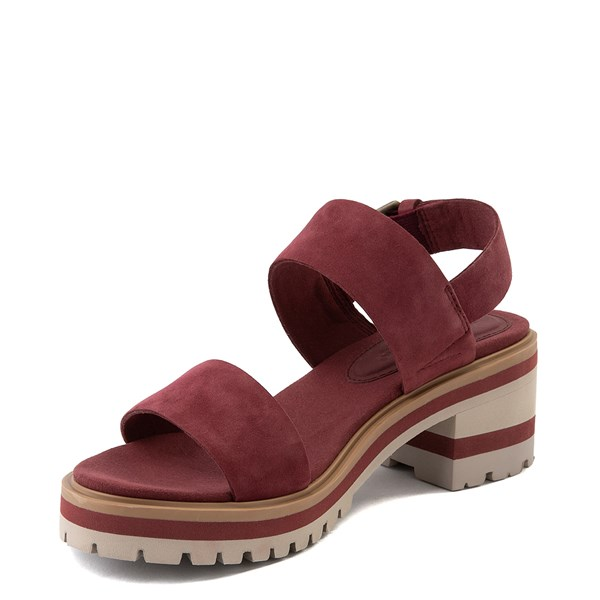 alternate view Womens Timberland Violet Marsh Sandal - BurgundyALT3