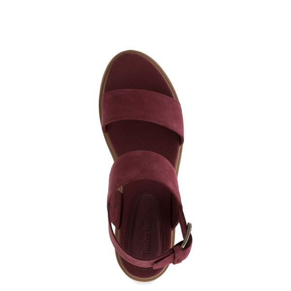 alternate view Womens Timberland Violet Marsh Sandal - BurgundyALT4B