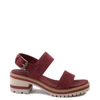 Main view of Womens Timberland Violet Marsh Sandal - Burgundy