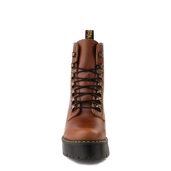alternate view Womens Dr. Martens Leona Platform Boot - ButterscotchALT4