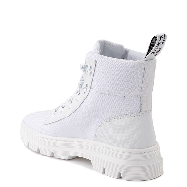 alternate view Womens Dr. Martens Combs Tech Boot - WhiteALT2