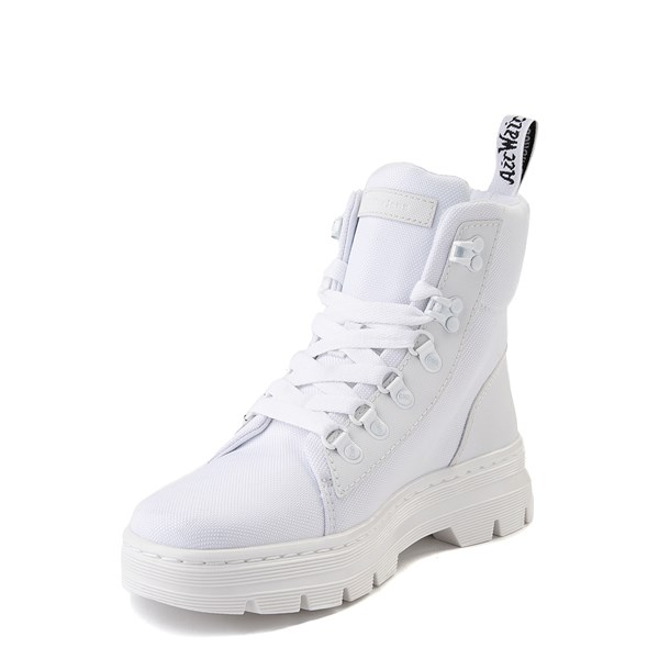 alternate view Womens Dr. Martens Combs Tech Boot - WhiteALT3