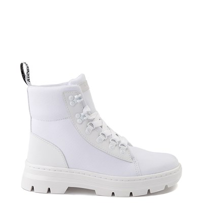 Main view of Womens Dr. Martens Combs Tech Boot - White