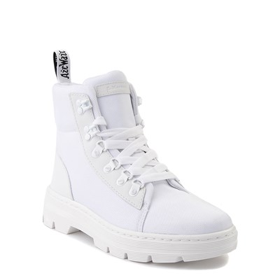Alternate view of Womens Dr. Martens Combs Tech Boot - White