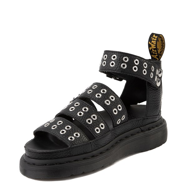 alternate view Womens Dr. Martens Clarissa Hardware Sandal - BlackALT3