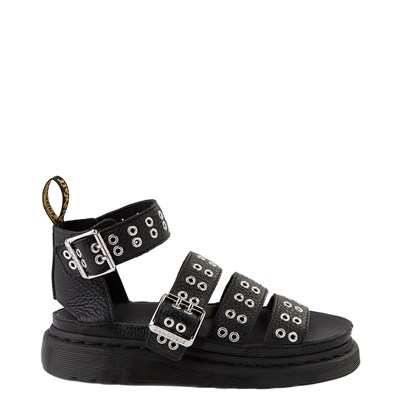 Main view of Womens Dr. Martens Clarissa Hardware Sandal - Black