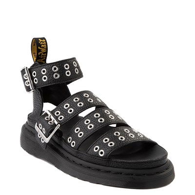 Alternate view of Womens Dr. Martens Clarissa Hardware Sandal - Black
