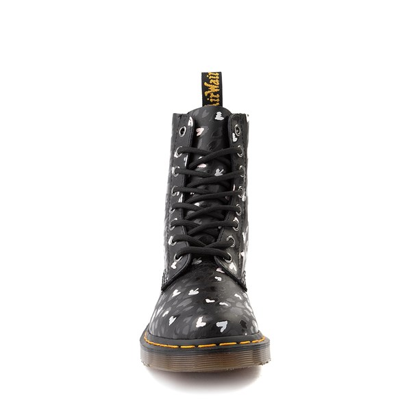 alternate view Womens Dr. Martens 1460 Pascal 8-Eye Wild Heart Boot - BlackALT4