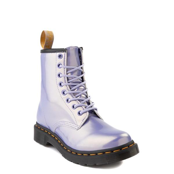 alternate view Womens Dr. Martens 1460 8-Eye Vegan Boot - Purple HeatherALT1