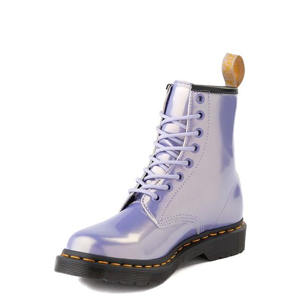 alternate view Womens Dr. Martens 1460 8-Eye Vegan Boot - Purple HeatherALT3