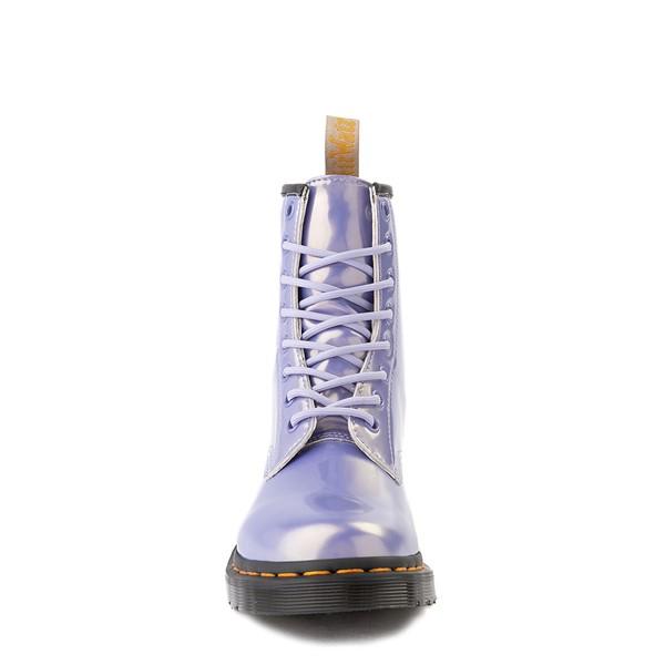 alternate view Womens Dr. Martens 1460 8-Eye Vegan Boot - Purple HeatherALT4