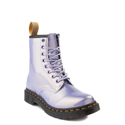 Alternate view of Womens Dr. Martens 1460 8-Eye Vegan Boot - Purple Heather