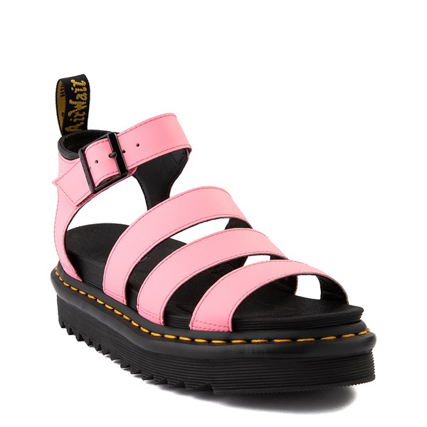 alternate view Womens Dr. Martens Blaire Sandal - Pink LemonadeALT1