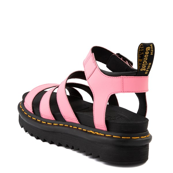 alternate view Womens Dr. Martens Blaire Sandal - Pink LemonadeALT2