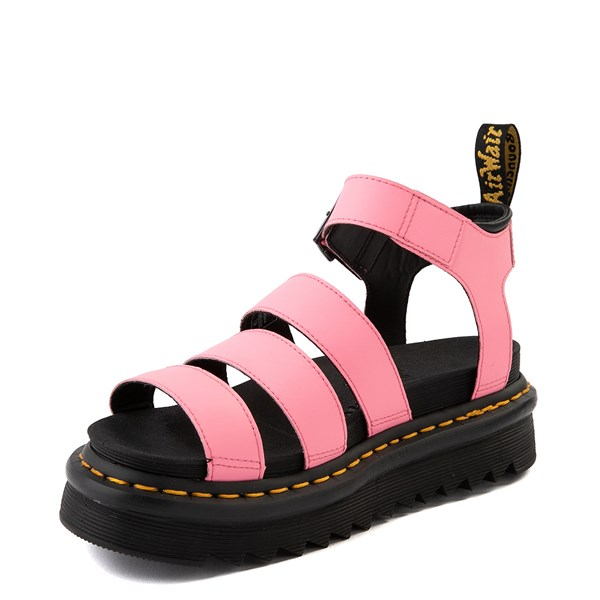 alternate view Womens Dr. Martens Blaire Sandal - Pink LemonadeALT3