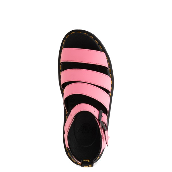 alternate view Womens Dr. Martens Blaire Sandal - Pink LemonadeALT4B
