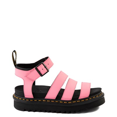 Main view of Womens Dr. Martens Blaire Sandal - Pink Lemonade
