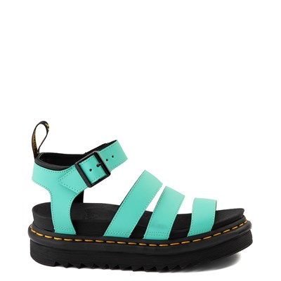 Main view of Womens Dr. Martens Blaire Sandal - Peppermint Green
