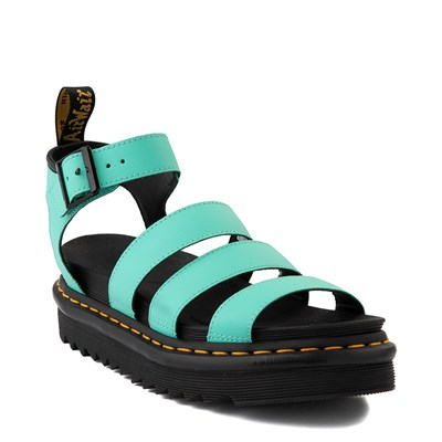 Alternate view of Womens Dr. Martens Blaire Sandal - Peppermint Green