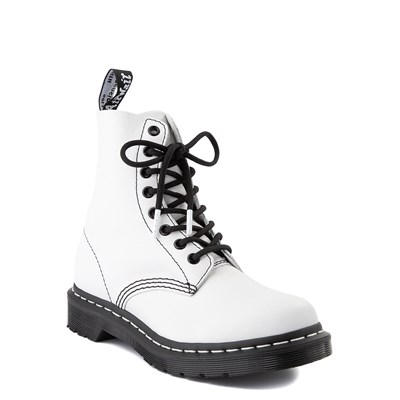Alternate view of Womens Dr. Martens 1460 Pascal 8-Eye Boot - White / Black