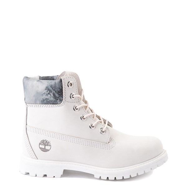 "Womens Timberland 6"" Premium Boot - White"