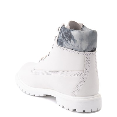 "Alternate view of Womens Timberland 6"" Premium Boot - White"