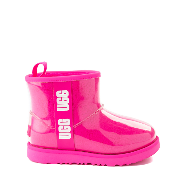 Main view of UGG® Classic Clear Mini II Boot - Toddler / Little Kid / Big Kid - Rock Rose