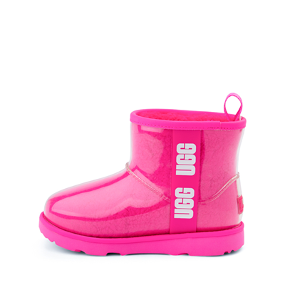Alternate view of UGG® Classic Clear Mini II Boot - Toddler / Little Kid / Big Kid - Rock Rose