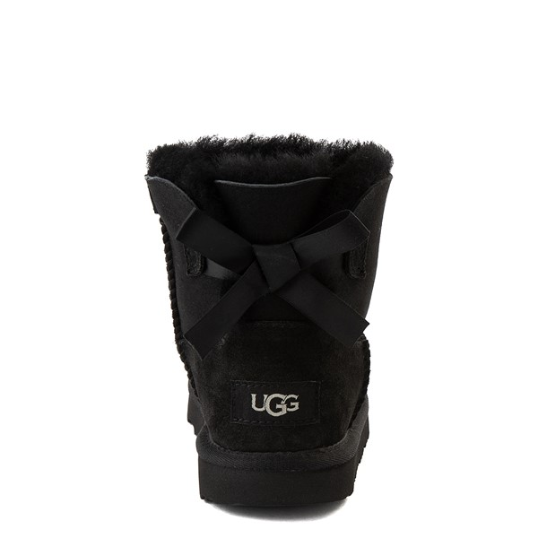 alternate view UGG® Mini Bailey Bow II Boot - Little Kid / Big Kid - BlackALT2B