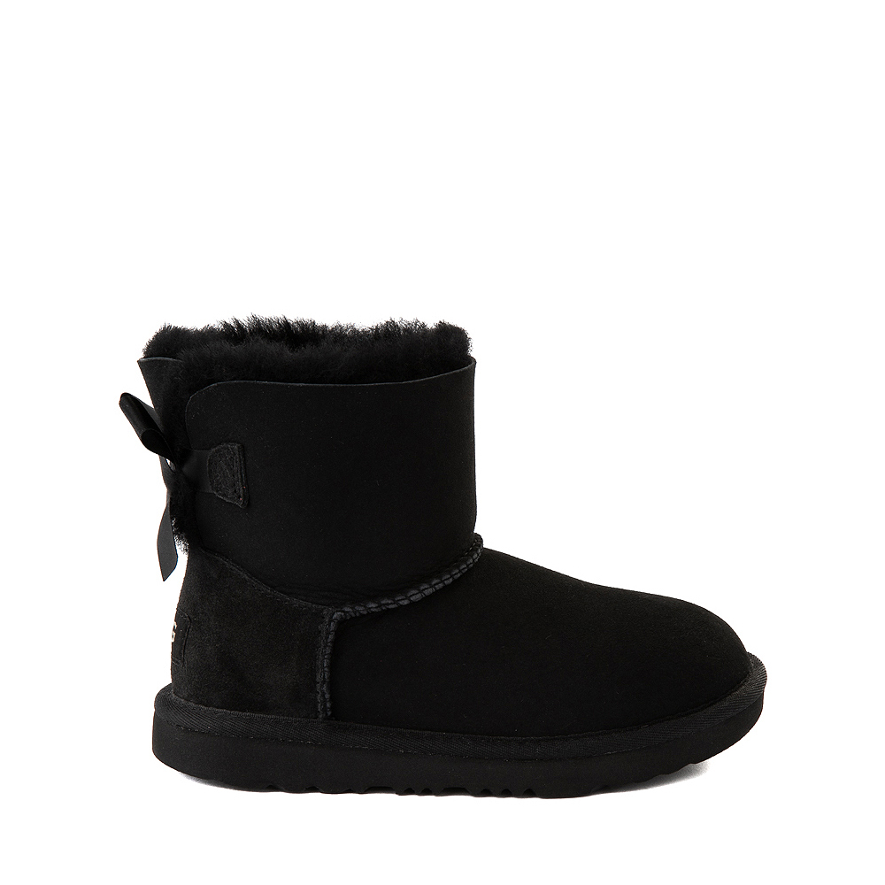 UGG® Mini Bailey Bow II Boot - Little Kid / Big Kid - Black