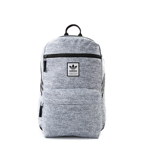 Main view of adidas National Backpack - Light Gray