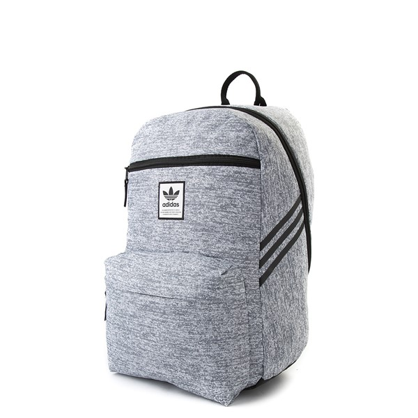 alternate view adidas National Backpack - Light GrayALT4