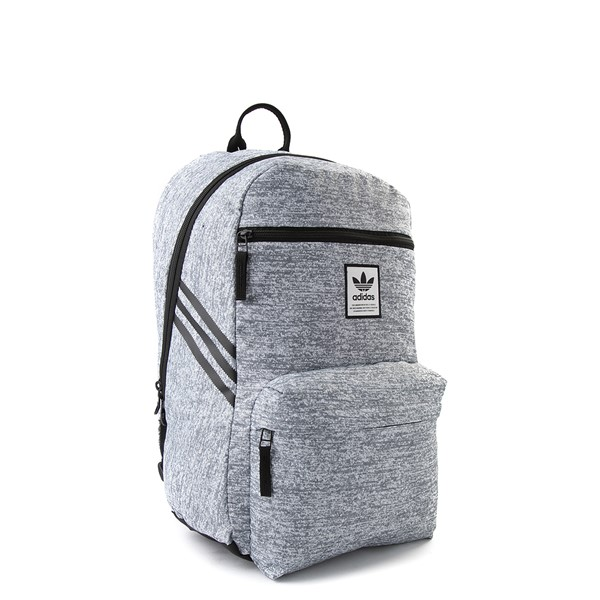 alternate view adidas National Backpack - Light GrayALT4B