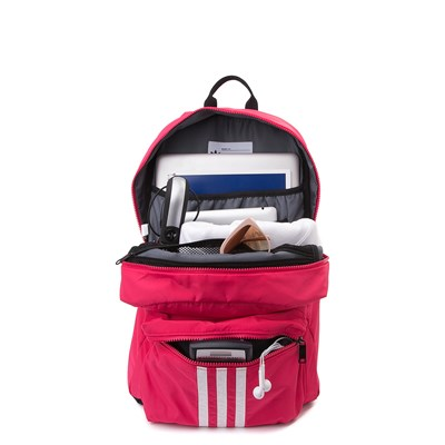 Alternate view of adidas National Plus Backpack - Hot Pink