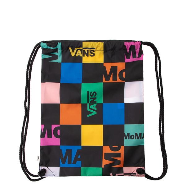 Vans x MoMA Checkerboard Cinch Bag - Black / Multicolor
