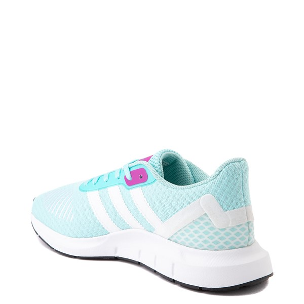 alternate view Womens adidas Swift Run RF Athletic Shoe - Aqua / BerryALT1
