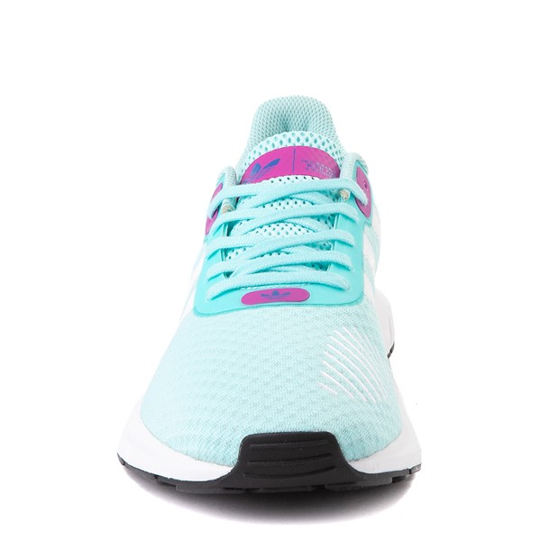alternate view Womens adidas Swift Run RF Athletic Shoe - Aqua / BerryALT4