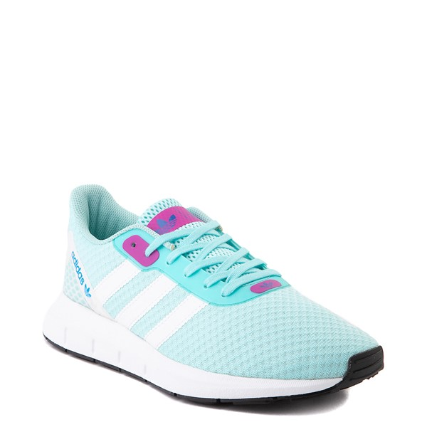alternate view Womens adidas Swift Run RF Athletic Shoe - Aqua / BerryALT5