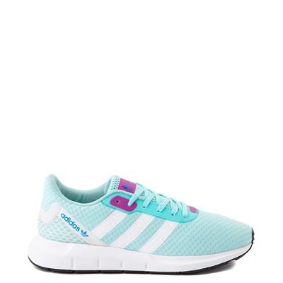 Main view of Womens adidas Swift Run RF Athletic Shoe - Aqua / Berry