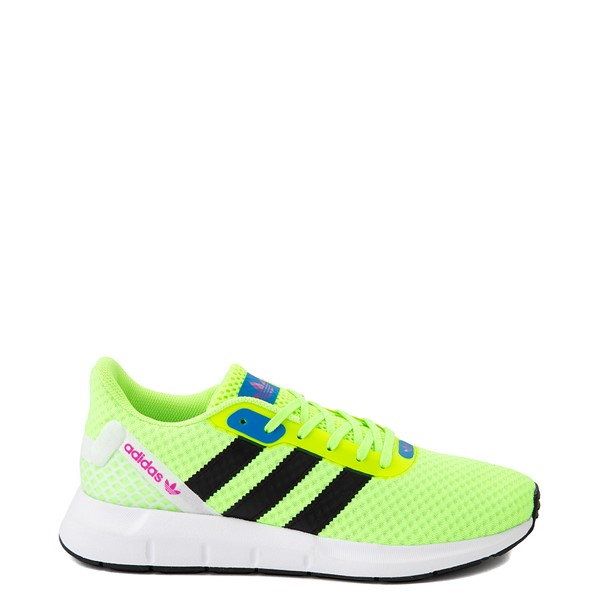 Main view of Womens adidas Swift Run RF Athletic Shoe - Signal Green / Black
