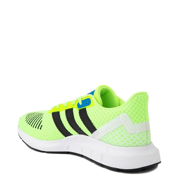 alternate view Womens adidas Swift Run RF Athletic Shoe - Signal Green / BlackALT1