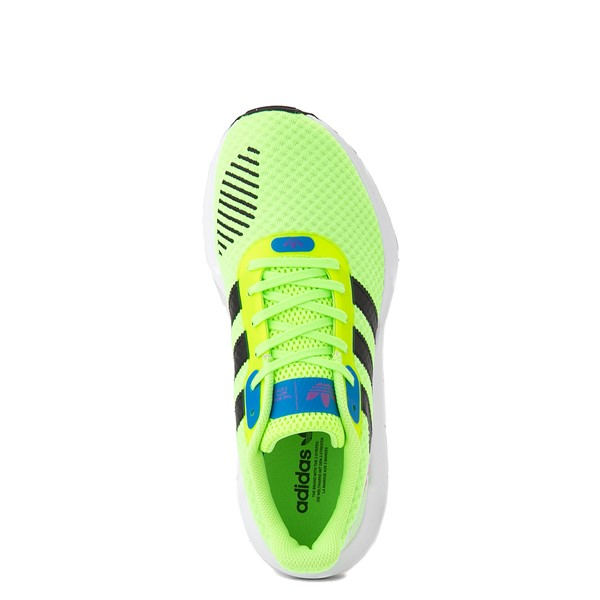 alternate view Womens adidas Swift Run RF Athletic Shoe - Signal Green / BlackALT4B