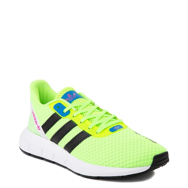 alternate view Womens adidas Swift Run RF Athletic Shoe - Signal Green / BlackALT5