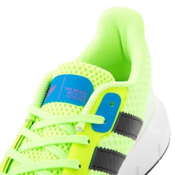 alternate view Womens adidas Swift Run RF Athletic Shoe - Signal Green / BlackALT6