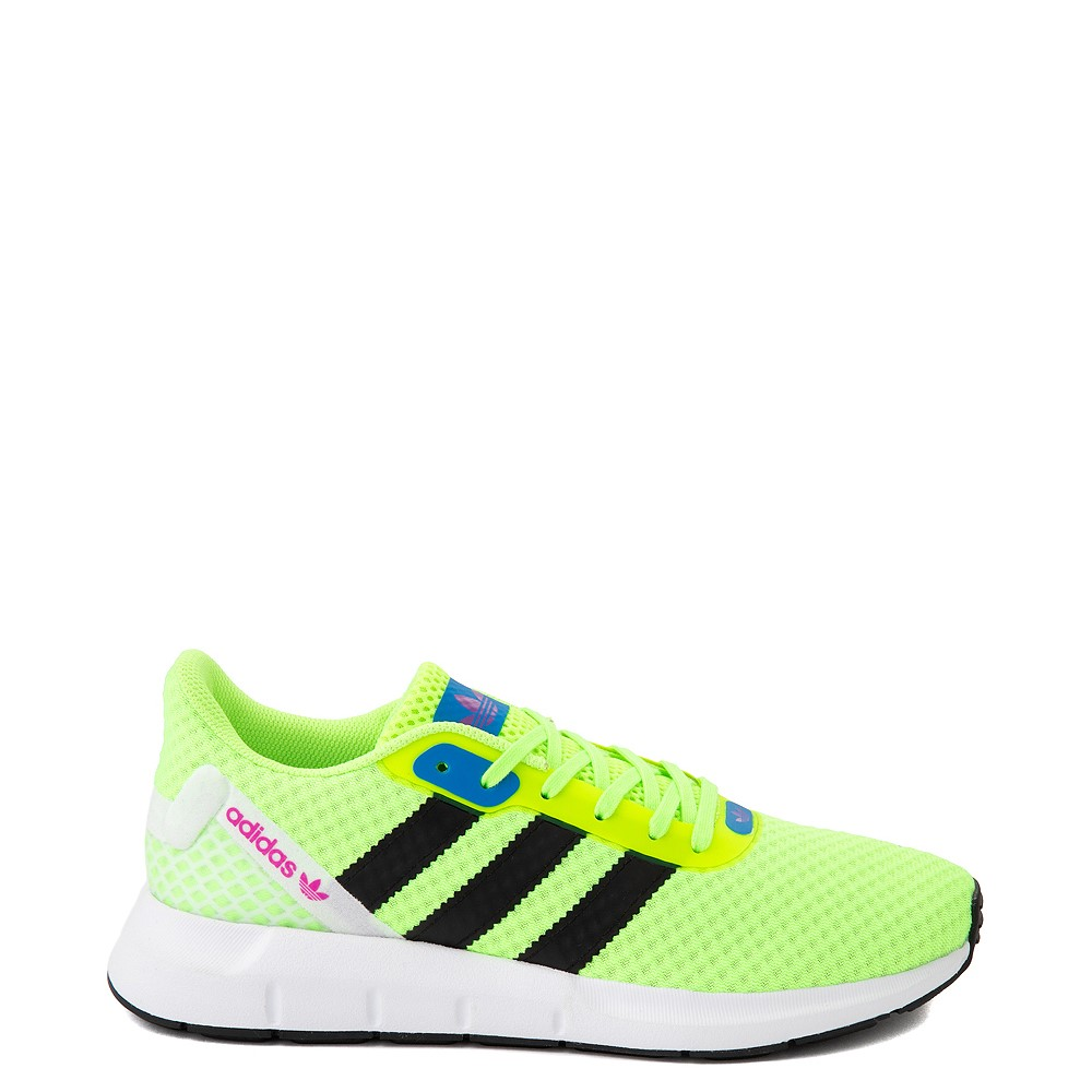 Womens adidas Swift Run RF Athletic Shoe - Signal Green / Black
