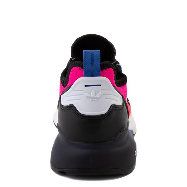 alternate view Womens adidas ZX 2K Boost Athletic Shoe - Shock Pink / Gray / BlackALT4