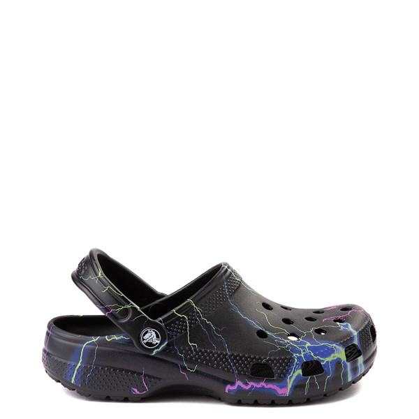Main view of Crocs Classic Clog - Black / Lightning