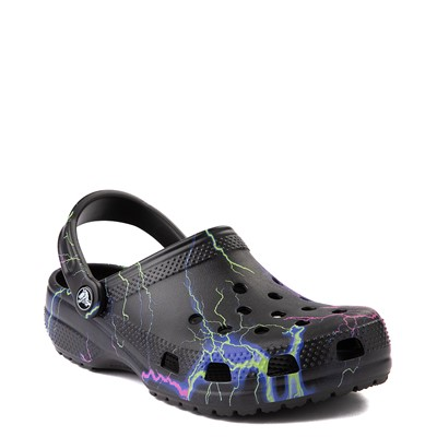 Alternate view of Crocs Classic Clog - Black / Lightning