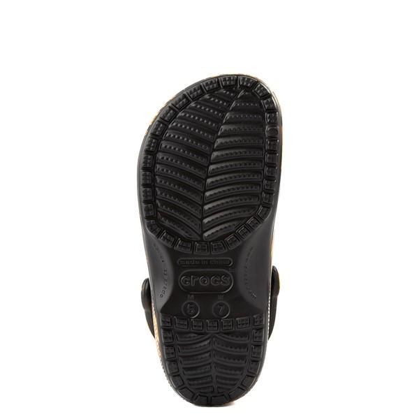 alternate view Crocs Classic Clog - Black / FlamesALT5