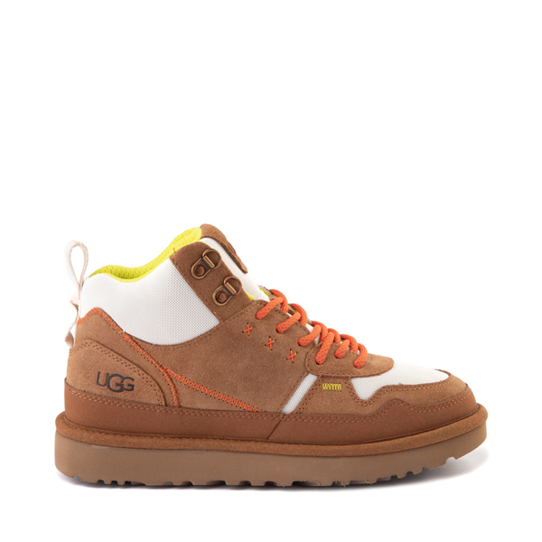 Main view of Womens UGG® Highland Hi Heritage Sneaker - Chestnut